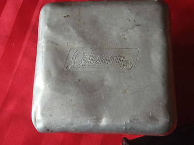 """coleman aluminum tin @ 5"""" by 5"""" by 6"""""""
