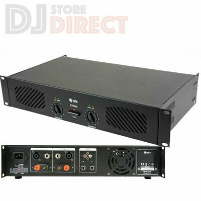 QTX Q1000 Stereo Power Amplifier 1000W Speaker Sound System DJ 2 x 500W| 172.055