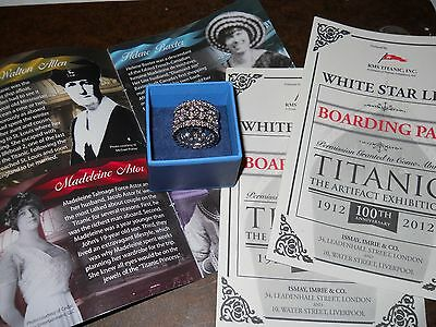 Titanic reproduction ring size 8