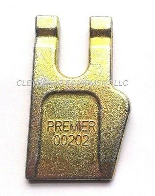 NEW AUGER WISDOM GAGE TOOTH Bolt On Teeth Bit McMillen Pengo Premier gauge dirt