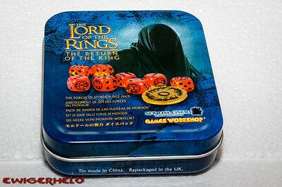 Lord of the Rings Return of the King - The Forces of Mordor Dice Pack