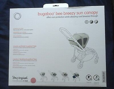 Bugaboo Bee Breezy Sun Canopy Pink New In Box