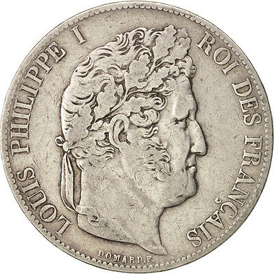 [#450279] France, Louis-Philippe, 5 Francs, 1846, Paris, TB+, Argent