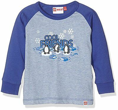 Blau (Dark Blue 571) (TG. 80) Lego Wear 18716, T-Shirt Bambino, Blau (Dark Blue