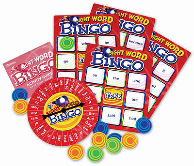 Learning Resources Sight Word Bingo for Children – NEW
