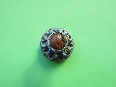 28. Byzantine Silver Ring With Stone   !!!   18 mm  !!!   RR