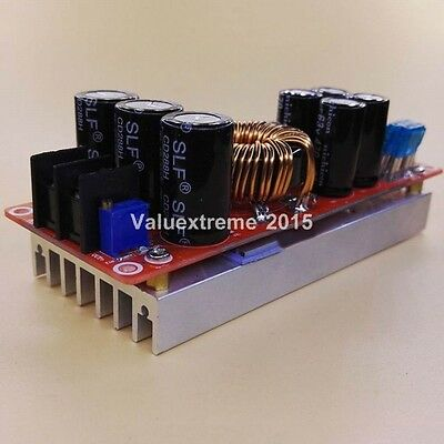 Durable 1200W 20A DC Converter Boost Step-up Power Supply Module 8-60V TO 12-83V