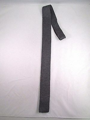 Flat/Square Bottom Mens Knit Tie