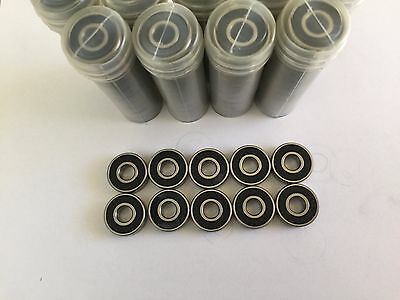 100 pieces of 608 2RS rubber sealed ball bearing, 8x 22x 7 mm
