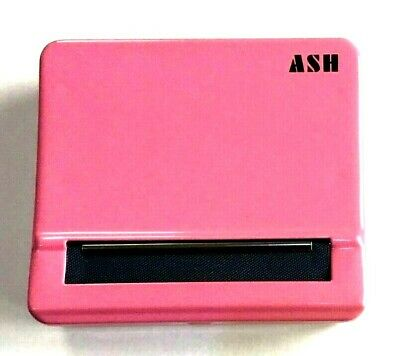 Automatic Rolling Machine Tobacco Case Tin Roller PINK Special Blind Smooth Roll