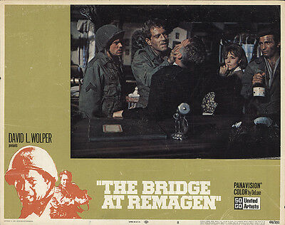 The Bridge at Remagen 1969 Original Movie Poster Action Drama War