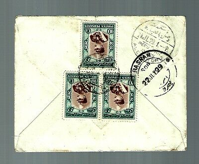 1929 cover persanes postes air mail flight cover   (x322)