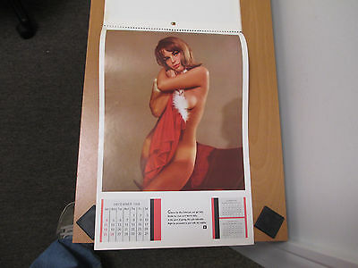 Playboy Vintage 1966 Playmate Calendar - Nude Girls In Classy Poses