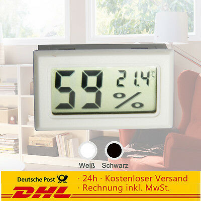 Digital LCD Hygrometer + Thermometer Hydrometer Feuchte-messer Humidity Meter