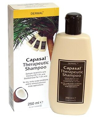 Capasal Therapeutic Shampoo 250ml Treatment For dry, scaly scalp conditions