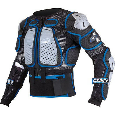 AXO Air Cage Motocross Dirt Bike Chest Protector Roost Guard Body Armor M L XL +