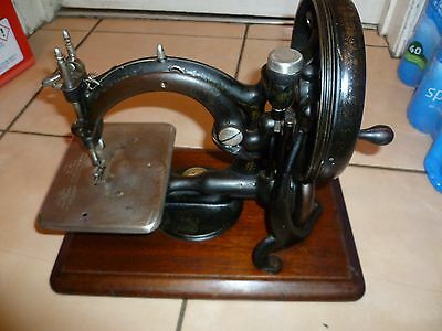 Antique Wilcox And Gibbs Chain Stitch Sewing Machine, Made In Usa