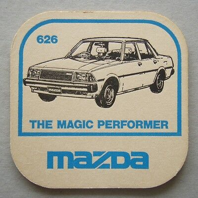 Mazda 626 The Magic Performer Coaster