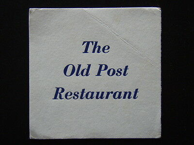 The Old Post Restaurant Coaster
