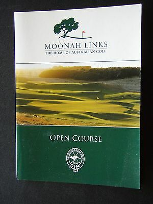 Moonah Links The Home Of Australian Golf Open Course Score Card