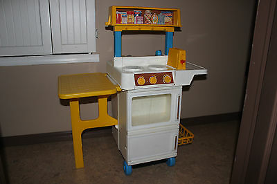 Vintage Fisher Price Fun with Food 2101 Kitchen.