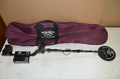 WHITES  METAL DETECTOR CLASSIC ID with BAG - EXCELLENT WORKING CONDITION