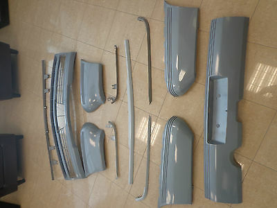 Vl Holden Commodore Front & Rear Bumper Bar Set Including Moulds*** 12 Pieces***