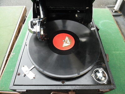 Cased Travelling Gramophone By Columbia