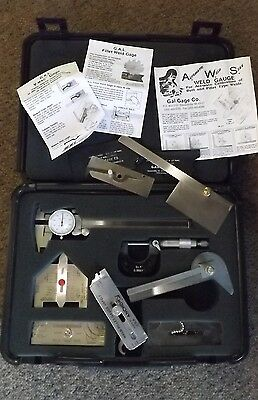 AWS CWI Weld Inspection GAL Gage Set