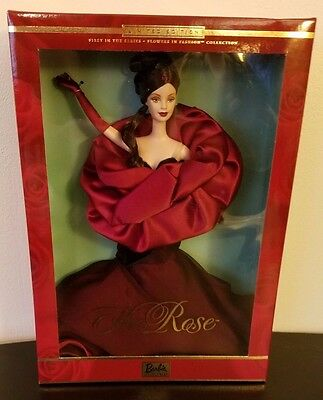 The ROSE FLOWERS in FASHION Barbie ~1st Series  ~NRFB