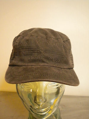 Harley Davidson Hat M Cap Rusty brown black grey color Biker