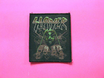 Official Slayer Woven Patch  Sew On Uk Import