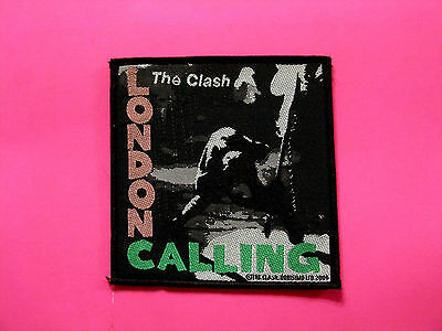 Official 2004 Clash Woven Patch  Sew On Uk Import