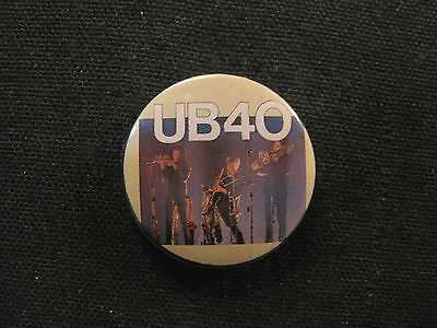 "Ub40 1990 Vintage 1"" Button Badge Pin Official Uk"
