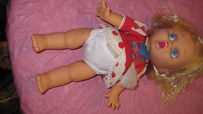 Galoob  Baby Face Doll  So Surprised Suzie