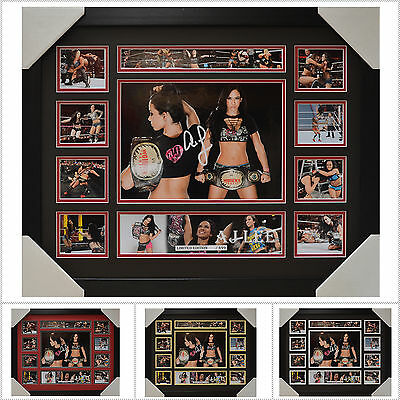 AJ LEE Signed Framed Memorabilia Limited Edition V1 - Multiple Variations