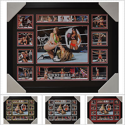 Nikki Bella Signed Framed Memorabilia Limited Edition V1 - Multiple Variations