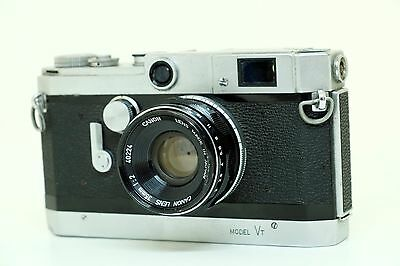 Canon VT rangefinder with Canon 35mm f2 lens in Excellent condition