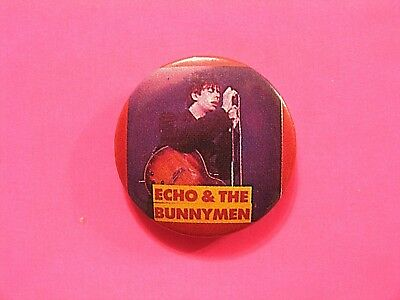 """Vintage Echo&the Bunnymen 1"""" Badge Button Pin Uk Import"""