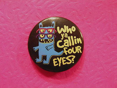 """Monster Mash  1""""  Button Badge Pin Official Uk Made New"""