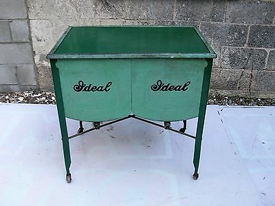 antique wash tub-ice box-cooler-selling out make offer