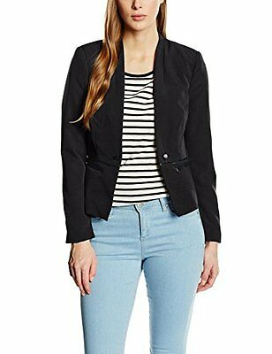 Nero (TG. IT 44 (FR 40)) Vero Moda VMTENNIE LS BLAZER-Completo Donna    Nero 44