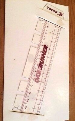 """Day Planner Accessory--""""Today"""" Page Marker Ruler - DRN043104"""