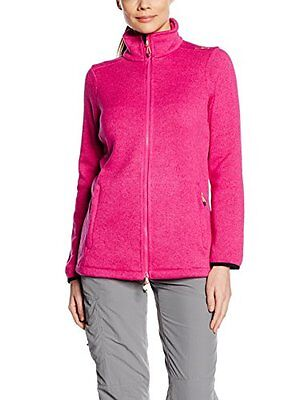 Rosa (Scarlet/Fuxia) (TG. D38) CMP Fleecejacke Giacca in Pile, Donna, Rosa (Scar