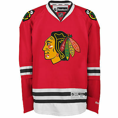 Chicago BLACKHAWKS Reebok Premier Officially Licensed NHL Jersey,