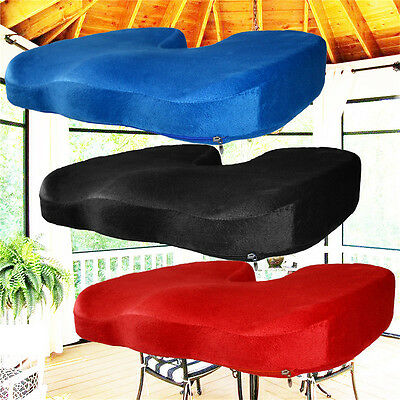 Memory Foam Gel Cushion coccyx seat pillow Office Chair Car seat Stress Relief G