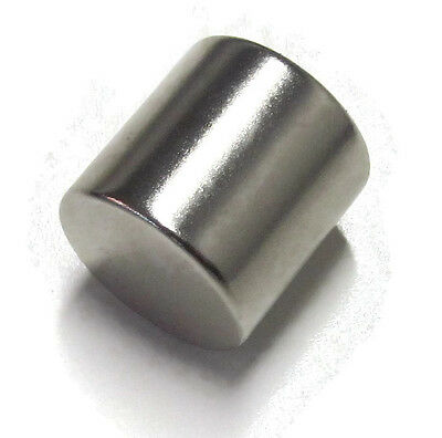 """3/4 Inch .75"""" 40# 1pc 19mm N52 Cylinder Magnet Neodymium Strong Rare Earth 3/4"""""""