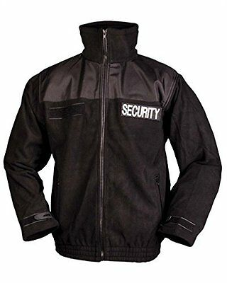 (TG. 3XL) Mil-Tec-Giacca in pile Security XXXL