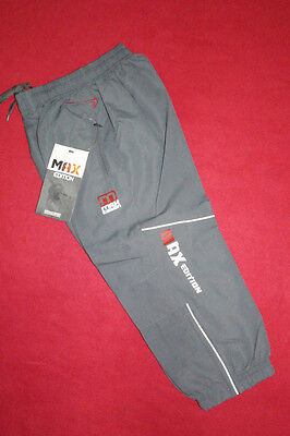 Boys Girls Max Kids Grey Tracksuit Bottoms Lining Sports Trousers Yrs Years 4 5