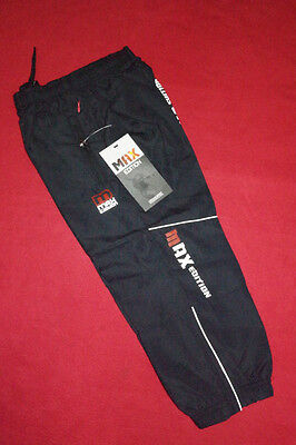 Boys Girls Max Kids Navy Tracksuit Bottoms Lining Sports Trousers Yrs Years 4 5